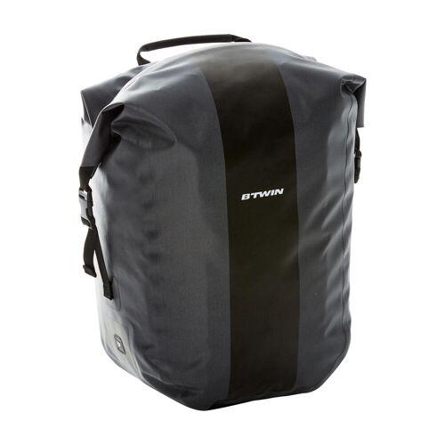 ELOPS Fahrradtasche Gepäcktasche 900 wasserdicht 25 Liter Kompakt Rail GRAU