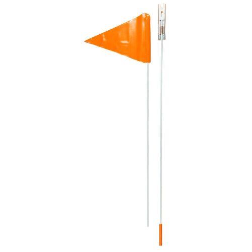 BTWIN Sicherheitsfahne für Kinderrad orange