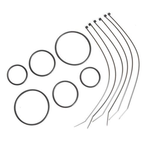 VAN RYSEL Universal-Befestigungsset für Fahrradcomputer