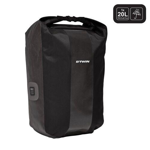 ELOPS Fahrradtasche Gepäcktasche 500 20Liter wasserdicht schwarz
