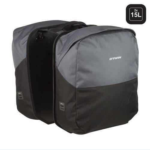 ELOPS Doppel-Fahrradtasche Gepäcktasche 100 2×15L