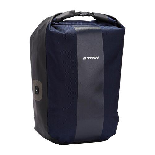 ELOPS Fahrradtasche Gepäcktasche 500 20 Liter wasserdicht blau