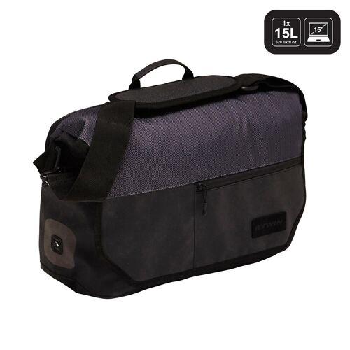 ELOPS Fahrradtasche Businessbag 500 15l schwarz/grau