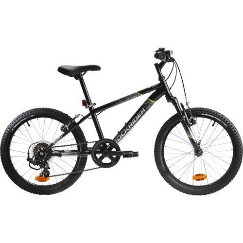 BTWIN Mountainbike Kinderfahrrad 20 Zoll Rockrider ST 500 schwarz