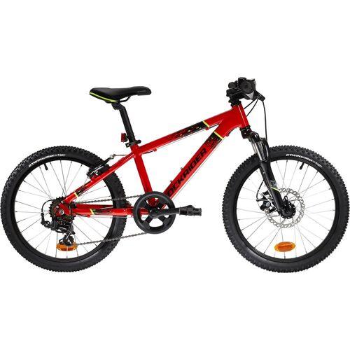 BTWIN Mountainbike Kinderfahrrad 20 Zoll Rockrider ST 900 rot