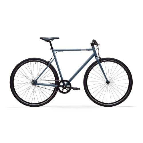 ELOPS City Bike 28 Zoll Elops Speed 500 Singlespeed/Fixie blau