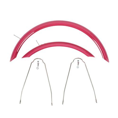 BTWIN Schutzblech-Set 16 Zoll Fahrrad rosa