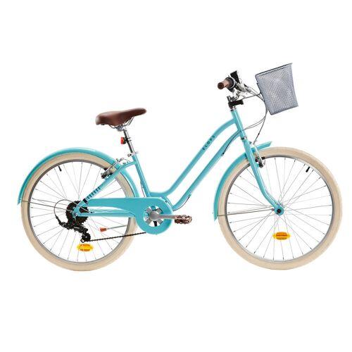 BTWIN City Bike Kinderfahrrad 24 Zoll Elops 500 mint