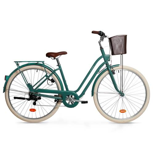 ELOPS City Bike 28 Zoll Elops 520 LF Damen grün GRÜN