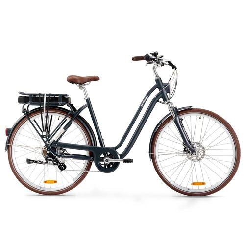 ELOPS E-Bike City Bike 28 Zoll Elops 900E LF Damen dunkelblau BLAU