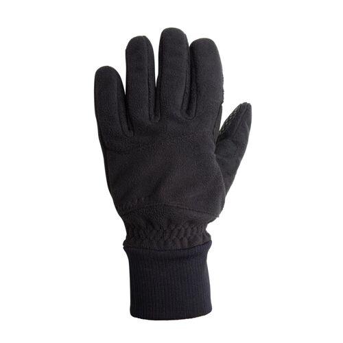 TRIBAN Fahrrad-Winterhandschuhe 100 Fleece schwarz