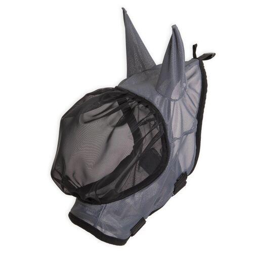FOUGANZA Fliegenmaske 500 Pferd grau