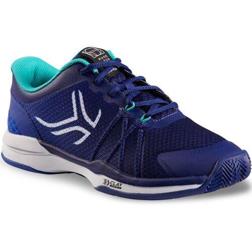 ARTENGO Tennisschuhe TS590 Sandplatz Damen blau