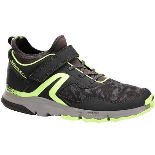 NEWFEEL Nordic-Walking-Schuhe NW 580 Kinder grau/grün GELB/GRAU