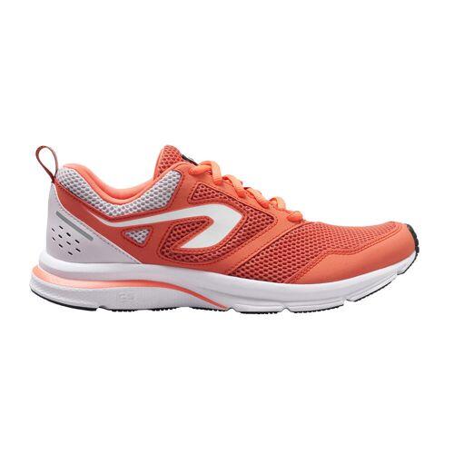 Kalenji Laufschuhe Run Active Damen orange GRAU/ROT