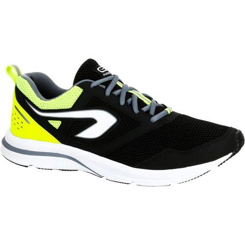 KALENJI Laufschuhe Run Active Herren schwarz/gelb