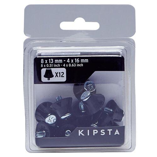 KIPSTA Schraubstollen Nylon 13–16mm für Fußballschuhe rot