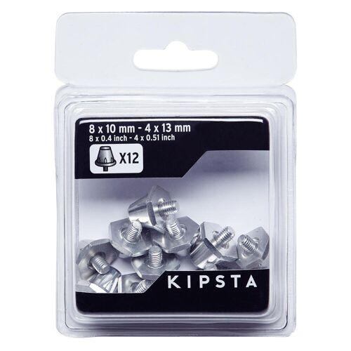 KIPSTA Schraubstollen Alu 10–13mm für Fußballschuhe silber