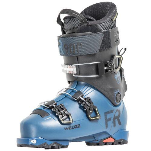 WEDZE Skischuhe Freeride Herren FR900 LT Flex 100 blau