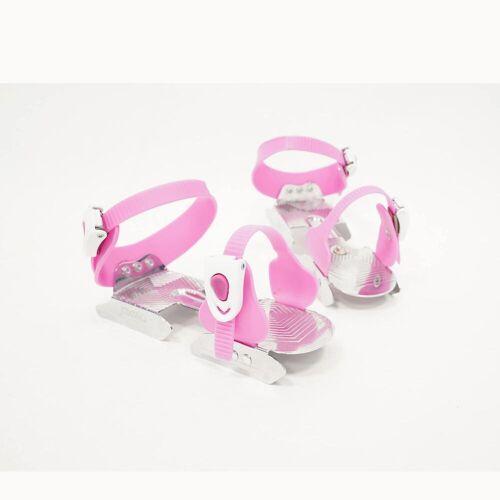 OXELO Schlittschuhe Play 1 größenverstellbar Kinder rosa