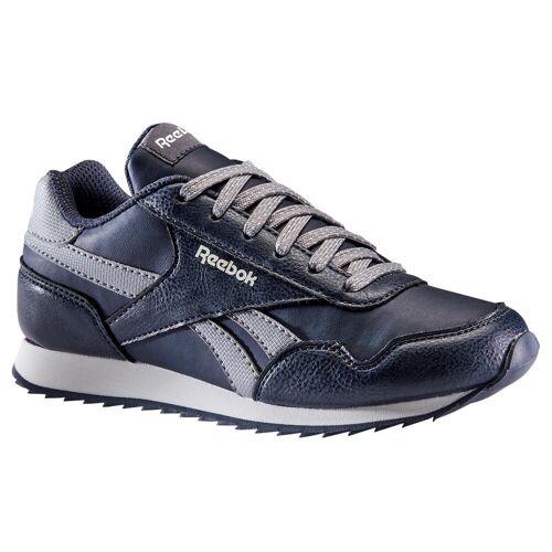 Reebok Sportschuhe Walking Schnürsenkel Classic Kinder marineblau/grau