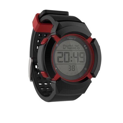 KALENJI Sportuhr W700XC M Herren schwarz/rot