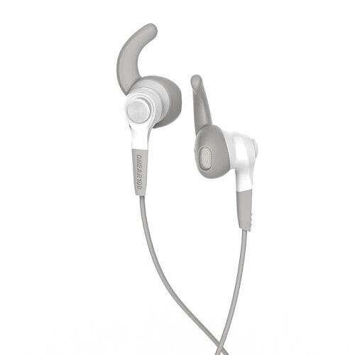 KALENJI Kopfhörer ONear 100 weiß/grau