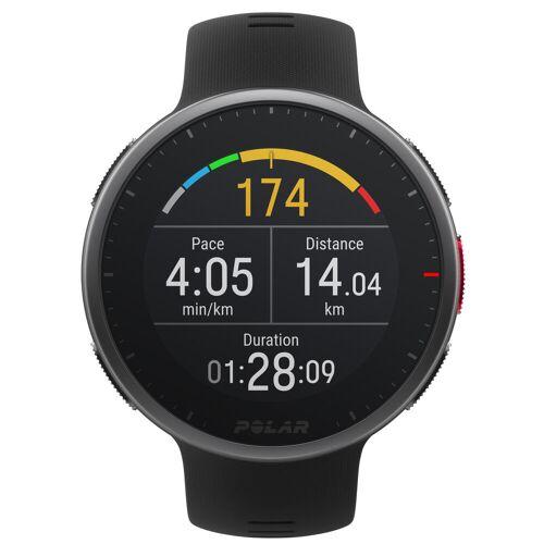 Polar GPS-Multisportuhr Smartwatch Vantage V2 schwarz