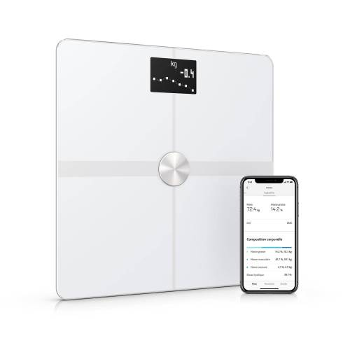 Withings Smarte Waage Body + weiss