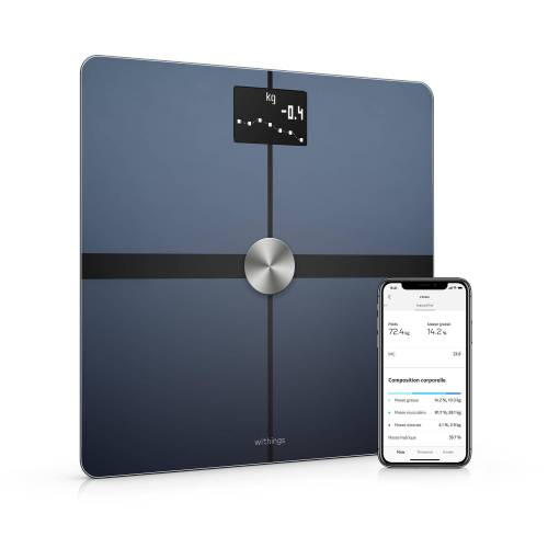 Withings Smarte Waage Body + schwarz