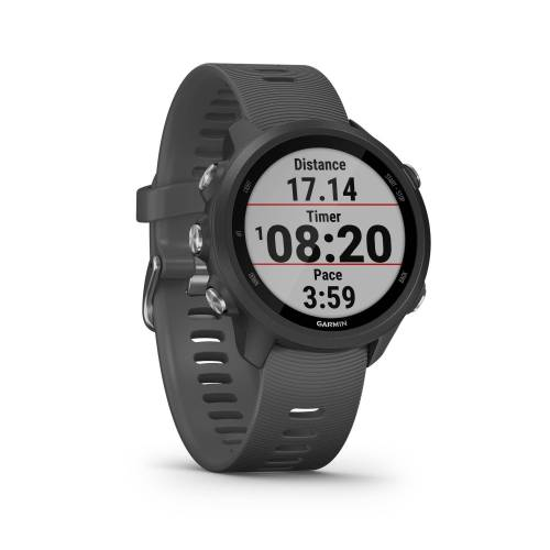 Garmin GPS-Pulsuhr Laufuhr Forerunner 245 grau