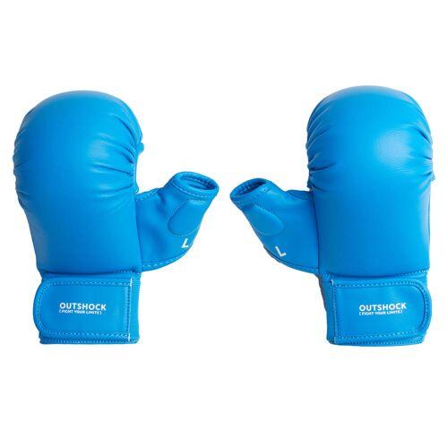 OUTSHOCK Karate-Handschuhe 900 blau BLAU/TÜRKIS