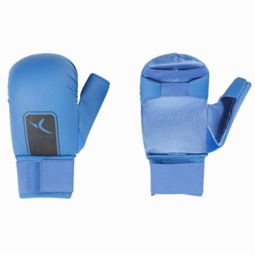 Domyos Karate-Handschuhe Faust blau