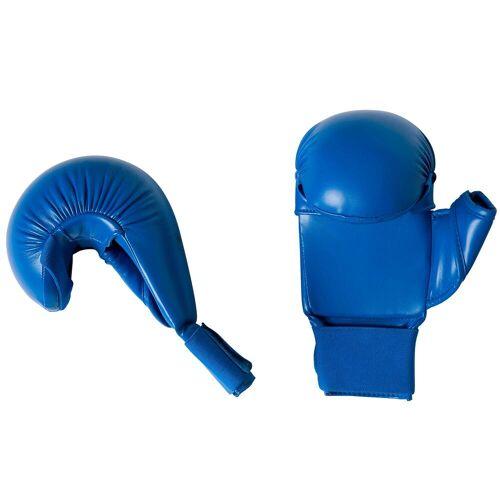 Double d Karate-Handschuhe Faust blau