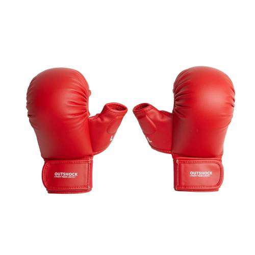 OUTSHOCK Karate-Handschuhe 900 rot ROT