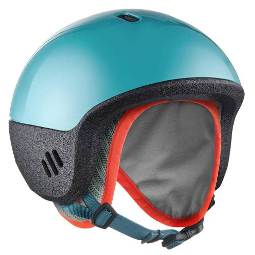 LUGIK 2-in-1-Ski-/Schlittenhelm Baby blau
