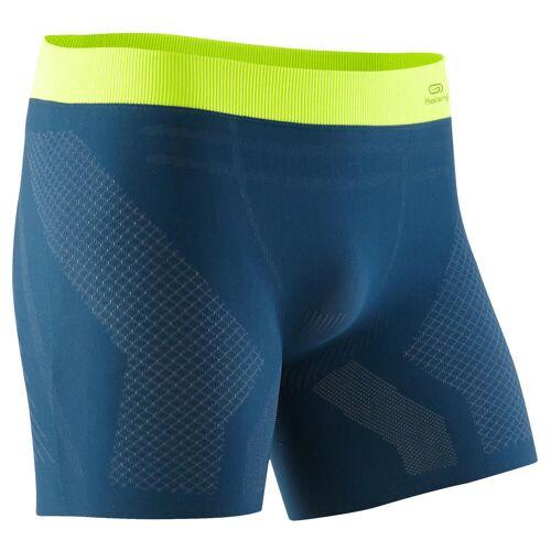 KALENJI Funktionsunterhose Lauf-Boxershorts nahtlos Herren blau