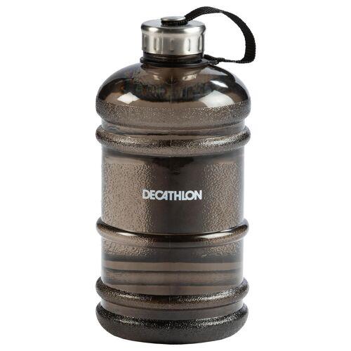 Domyos Trinkflasche Gallon 2200ml schwarz SCHWARZ