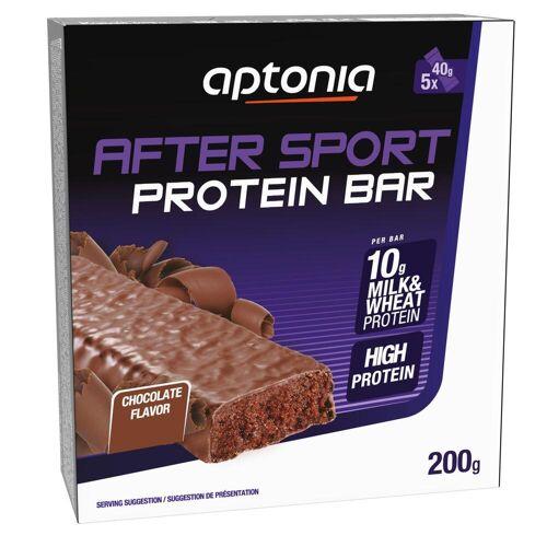 Aptonia Proteinriegel Eiweißriegel After Sport Schokolade 5 × 40g