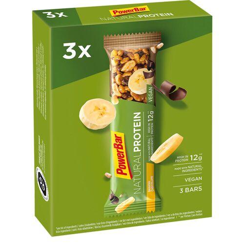 Powerbar Proteinriegel Eiweißriegel Natural Protein Schoko/Banane 3 × 40g