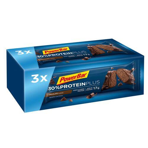 Powerbar Proteinriegel Eiweißriegel Protein Plus Schoko 3 × 55g