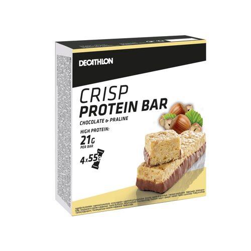 DOMYOS Proteinriegel Crisp Nugat 4×