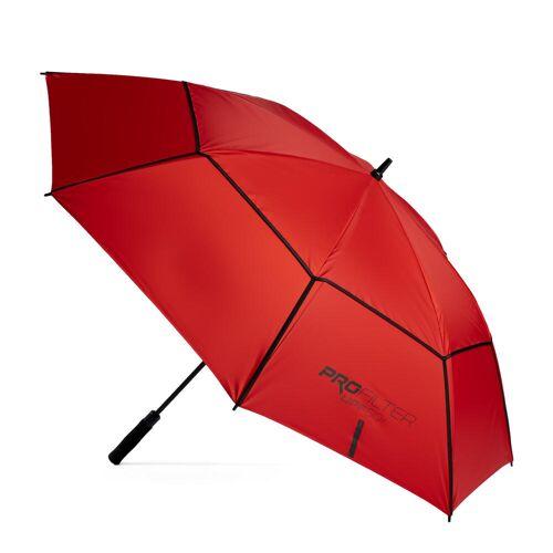 INESIS Golf Regenschirm ProFilter gross rot ROT