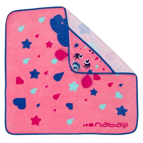 NABAIJI Handtuch mit Kapuze Baby Einhorn rosa