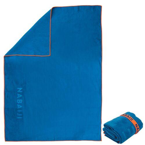 NABAIJI Mikrofaser-Badetuch Größe XL 110×175cm blau