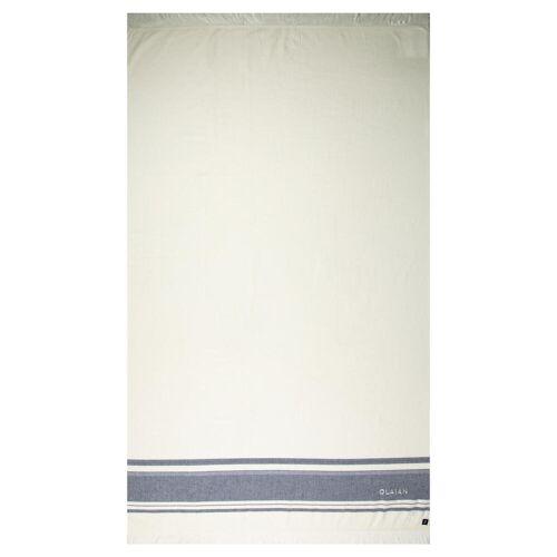 OLAIAN Strandtuch Fouta Avorio 170×100cm marineblau