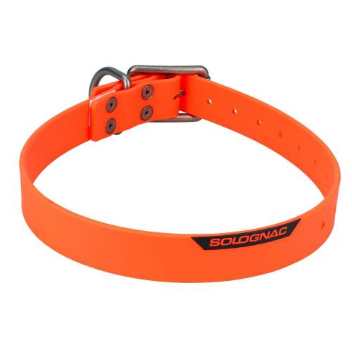 SOLOGNAC Hundehalsband 900 orange