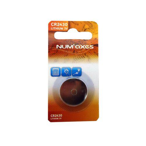 NUM'AXES Batterie Lithium CR 2430