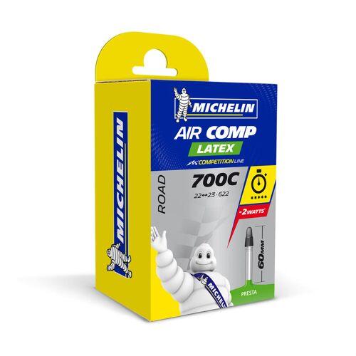 MICHELIN Fahrradschlauch 700 × 22/23 Michelin Air Comp Latex Presta 60mm