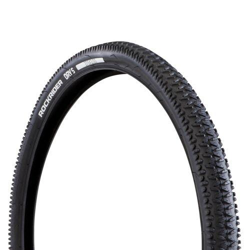 BTWIN Fahrradreifen Drahtreifen MTB Dry 5 27.5x2.0